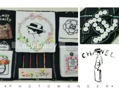 Chanel embroidery sewing case