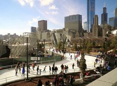 From helicopter tours to holiday traditions, there are plenty of things to do in Chicago other than hibernate! Here ideas to enjoy winter in the Windy City. Chicago Tours, Visit Chicago, Chicago Usa, Winter In Chicago, Chicago Entertainment, Chicago Things To Do, Sport Park, Helicopter Tour, Chicago Skyline