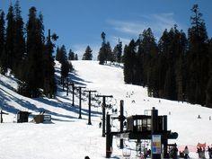 Badger Pass Ski Resort, Yosemite