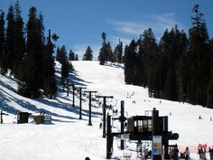 Badger Pass Ski Resort, Yosemite