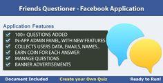 Friends Questioner - Facebook Application (Social Networking)