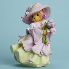 Part of the Cherished Teddies collection. You're Always a Breath of Fresh Air. Product Details. Made by Enesco. | eBay!