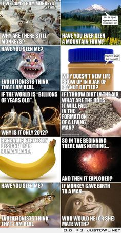 10 questions that stupid #atheists can't answer