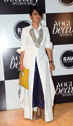Payal Khandwala in her own creation. The Week In Style
