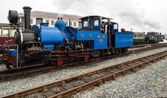 Darjeeling and Himalayan Railway No 19 will be giving footplate rides at Harbour Station over the Easter Weekend... WHR & FR Porthmadog station. 24-03-2015