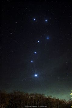 The Big Dipper Enhanced.  Moving the cursor over the image will bring up an annotated version. Clicking on the image will bring up the highest resolution version available.