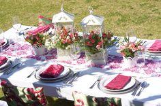 Couture Rentals www.couturerentals.com.mx #table #decoration #fiuscia flowers #event