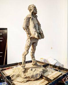 "73 Likes, 4 Comments - simon (@simonkogan) on Instagram: ""Sculpture#10 #China #artshow #clay"""