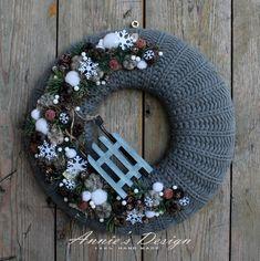 Christmas Images, Christmas Time, Christmas Wreaths, Christmas Crafts, Christmas Decorations, Xmas, Holiday Decor, Diy And Crafts, Seasons