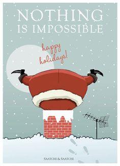 Un Joyeux Noël, par l'agence #SaatchiSaatchi !