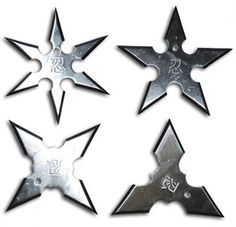 Aeroblade Ninja Throwing Star Set For Sale | AllNinjaGear.com - Largest Selection of Ninja Stars, Throwing Stars, and Shuriken