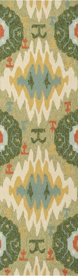 Storm Forest Green Area Rug