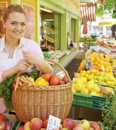 Reduce Blood Pressure at the Farmer's Market