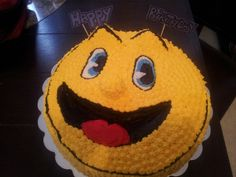 Pac man and the ghostly adventure cake by teri gooden