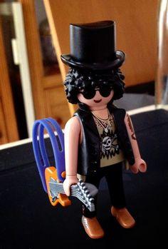 Playmobil custom SLASH! - Studio Cigale sur Twitter : https://twitter.com/studio_cigale