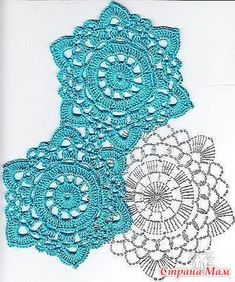 How to Crochet a Solid Granny Square - Crochet Ideas Crochet Snowflake Pattern, Crochet Motif Patterns, Granny Square Crochet Pattern, Crochet Diagram, Crochet Squares, Crochet Chart, Thread Crochet, Crochet Dollies, Crochet Gifts