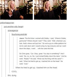 The more interviews that I read about the HP cast, the more I fall in love all over again.