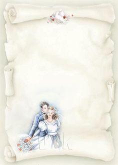 Wedding Borders, Phone Wallpaper Images, Vintage Wedding Cards, Wedding Illustration, Wedding Invitation Samples, Borders For Paper, Library Design, Wedding Scrapbook, Wedding Frames