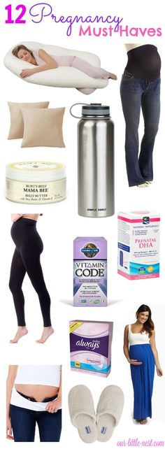 12 Pregnancy Must Haves | Products & Essentials for First Time Mom, New Mom