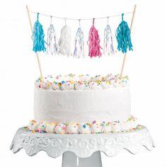 Amscan Taartdecoratie Be a Mermaid Tassels, Mermaid, Birthday Cake, Baking, Desserts, Products, Tailgate Desserts, Birthday Cakes, Patisserie