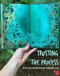 Trusting the Process: Notes from an Intuitive Art Journaling Class intuitive art journaling, intuitive paint, trusting the process Art Journal Pages, Art Journal Fondos, Art Journaling, Art Journal Challenge, Art Journal Backgrounds, Art Journal Prompts, Journal Ideas, Artist Journal, Art Pages