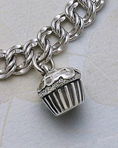 Cupcake Charm from James Avery Jewelry