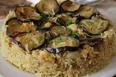 Pyszny ryż z bakłażanem i kalafiorem w palestyńskim stylu. Bezglutenowy, wegański. – Bezglutenowe jadło