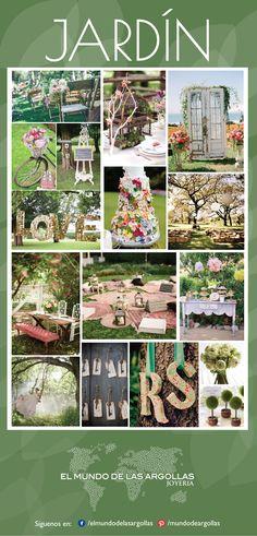 #IdeasParaTuBoda #EnJardin Una boda en jardín te permite estar más cerca de la naturaleza, disfrutar sus colores y respirar aire libre, además la vestimenta y el ambiente se relajan bastante, lo que permitirá a ti y tus invitados disfrutar aún más la boda de tus sueños…
