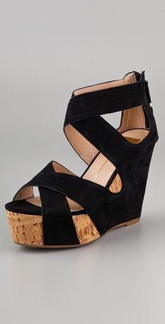 Dolce Vita Jaime Suede Wedge Sandals thestylecure.com