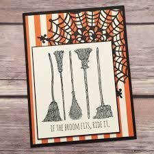 Image result for stampin up cards if the broom fits