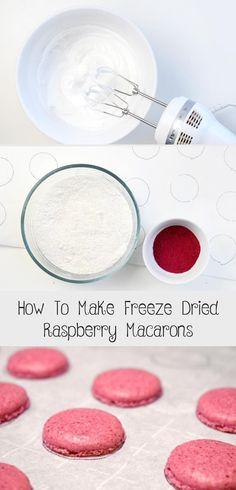 How to Make Freeze Dried Raspberry Macarons - Create. How to Make Freeze Dried Raspberry Macarons - Create. How to Make Freeze Dried Raspberry Macarons - Create. Raspberry Buttercream Frosting, Raspberry Meringue, Raspberry Crumble, Red Raspberry Leaf, Raspberry Cookies, Raspberry Mousse, White Chocolate Raspberry, Freeze Dried Raspberries, Freeze Dried Fruit