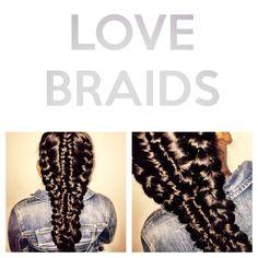 Cool braids    Fashion braids by Love2Braid #braids #braidstyles #braidstylist #hair #hairstyles #hairstylist #hairdresser #fashionbraids #coolbraids #fashion #inspiration #catwalk #runway #fashionshow