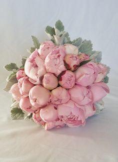 Peonies Bridal Bouquet