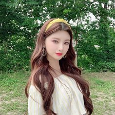 Pretty Korean Girls, South Korean Girls, Korean Girl Groups, Comeback Stage, Cute Icons, Ulzzang Girl, K Idols, Cute Hairstyles, Kpop Girls