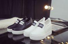 giày sneaker cho nữ cổ cao đế cao đế xuồng giá rẻ 3