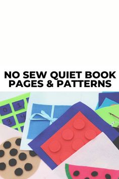 Are you wondering how to make a no sew quiet book or where to find templates and patterns? Then you'll want to check out these 10 DIY no sew quiet book pages and ideas. Includes printable patterns and instructional tutorials on how to assemble the different pages. You can finally make that busy book that you've been wanting to make for your toddlers! #quietbook #quietbooks #nosew #quietbookpages #busybooks #busybook Quiet Book Templates, Quiet Book Patterns, Educational Toys For Toddlers, Toddler Activities, Aboriginal Art For Kids, Fun Crafts, Crafts For Kids, Homemade Books, Felt Quiet Books
