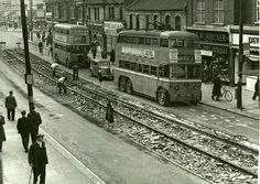SA Class trolley in East Street in (Collection FB) London Bus, East London, East Street, Street View, Rt Bus, Essex England, London Transport, Greater London, Busses