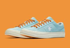 """The GOLF WANG Tyler The Creator Converse One Star """"Clearwater"""" will release on July 13th, 2017 in limited quantities for $100 USD. First look here:"""
