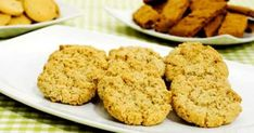 Havrekakor Candy Cookies, No Bake Cookies, Cookie Desserts, Cookie Recipes, Panera Cookie Recipe, Grandma Cookies, Bun Recipe, Swedish Recipes, Salted Butter
