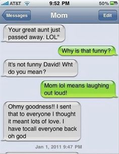 Sarcasm! Because beating the hell out of people is illegal!: The Funniest Texts From Mom Ever – 25 Pics