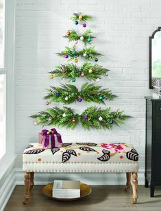 Wall Hanging Christmas Tree Grandin Road is kicking off September with its 2019 selection of Christmas decor, and its cozy offerings have us ready to deck the halls! The joyous season may