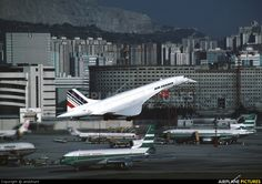 Air France F-BVFF aircraft at Kai Tak Int. CLOSED photo