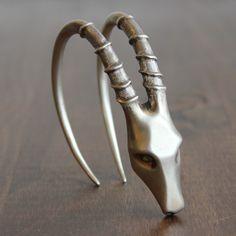 Gabriella Kiss Silver Ibex Cuff