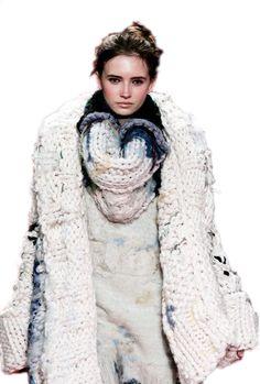 knitting style Fashion Fat Yarn: click here! www.thickandfinn.com