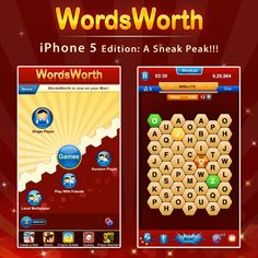 "WordsWorth and the iPhone 5: A Sneak Peek into what's under the hood of WordsWorth v4.0. With support for the iPhone 5's gorgeous 4"" display and new powerups, the word-battles just got a lot more intense! Watch this space for more updates :)"