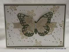 Schmetterlingsgruß trifft Petite Petals