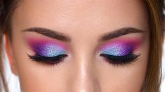 Denitslava (@denitslava) @bhcosmetics Take me back to Brazil eyeshadow palette @makeupgeekcosmetics foiled pigment in Atlantis @makeupaddictioncosmetics pigment in Sweet Kiss