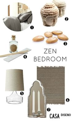 Zen Den ~ cherry blossom theme, zen garden, bamboo accents. inspiration: asian fabrics, cherry blossom patterns.