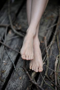 Being barefoot is my natural state - as soon as I walk in my house, off come the shoes - even in winter!!