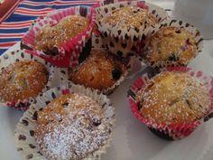 La buona cucina di Katty: Muffin con frutti di bosco ...all'americana!